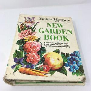 1968 Better Homes & Gardens New Garden Book-Spiral